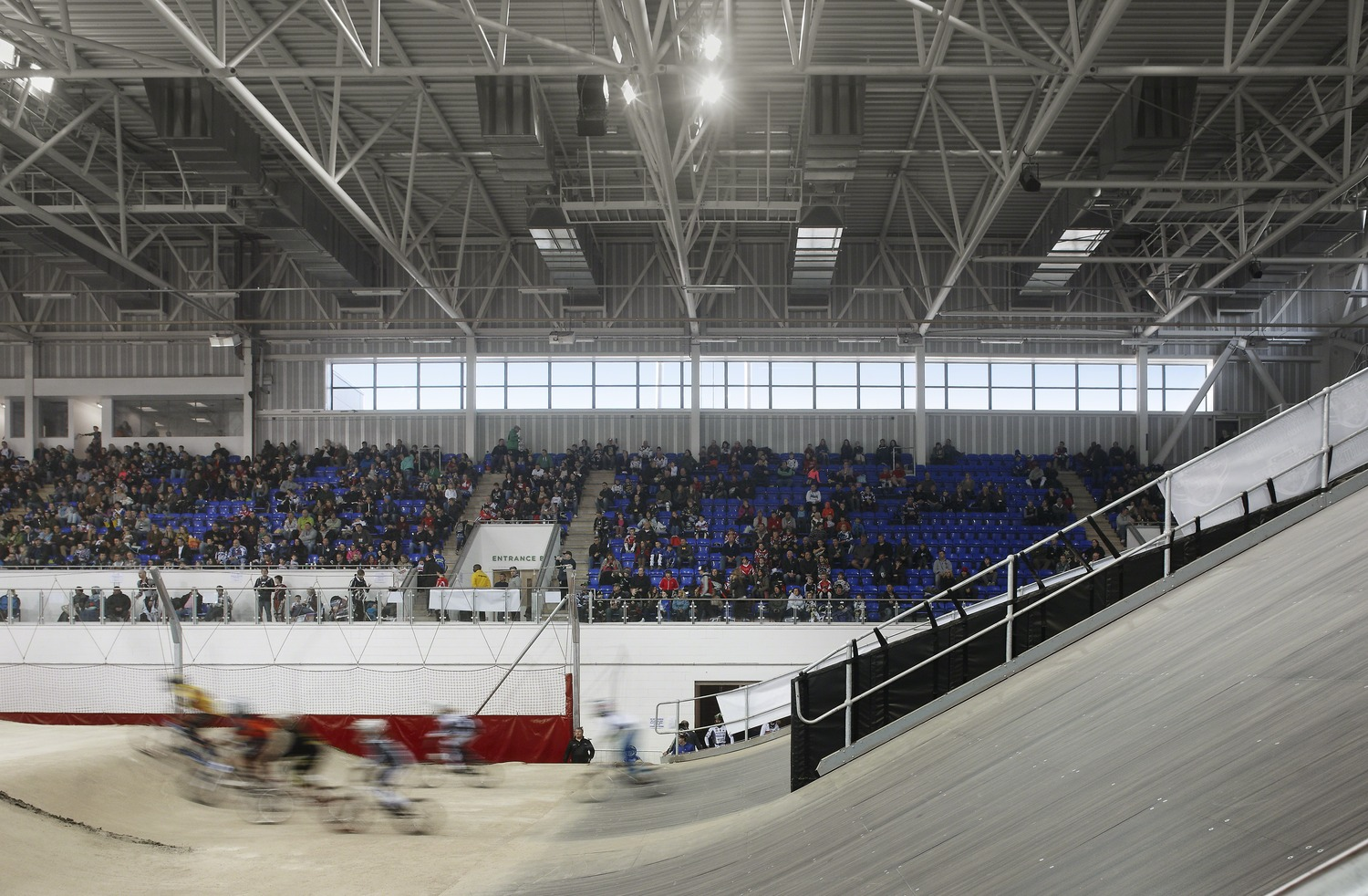 The National Cycling BMX Centre track