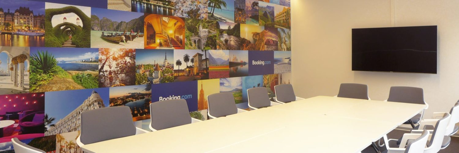 Booking.com meeting room
