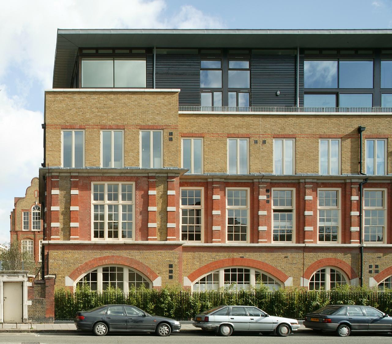 Stepney City flats, London