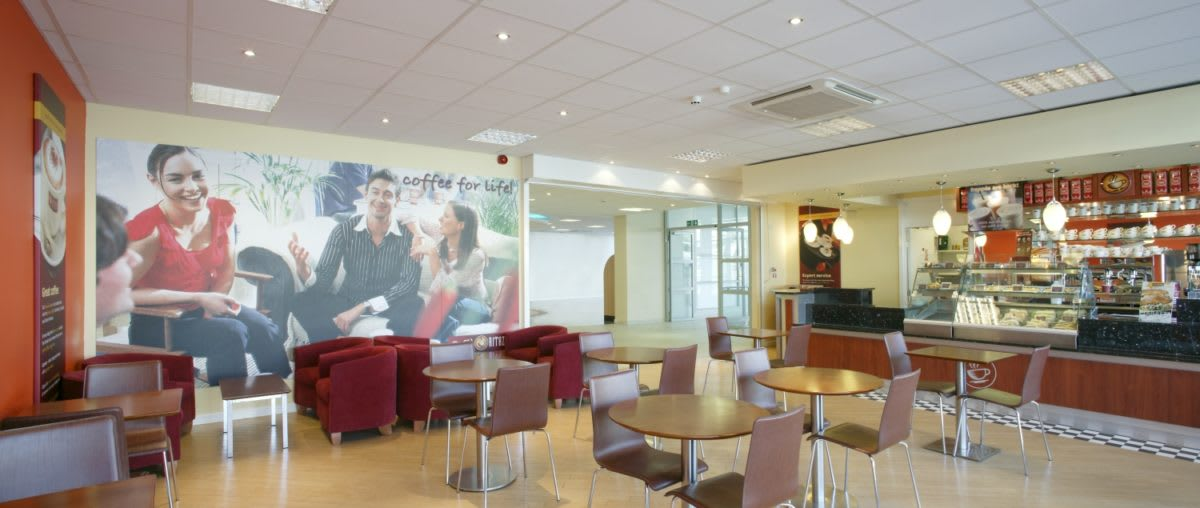 De Montfort University, Leicester - coffee bar