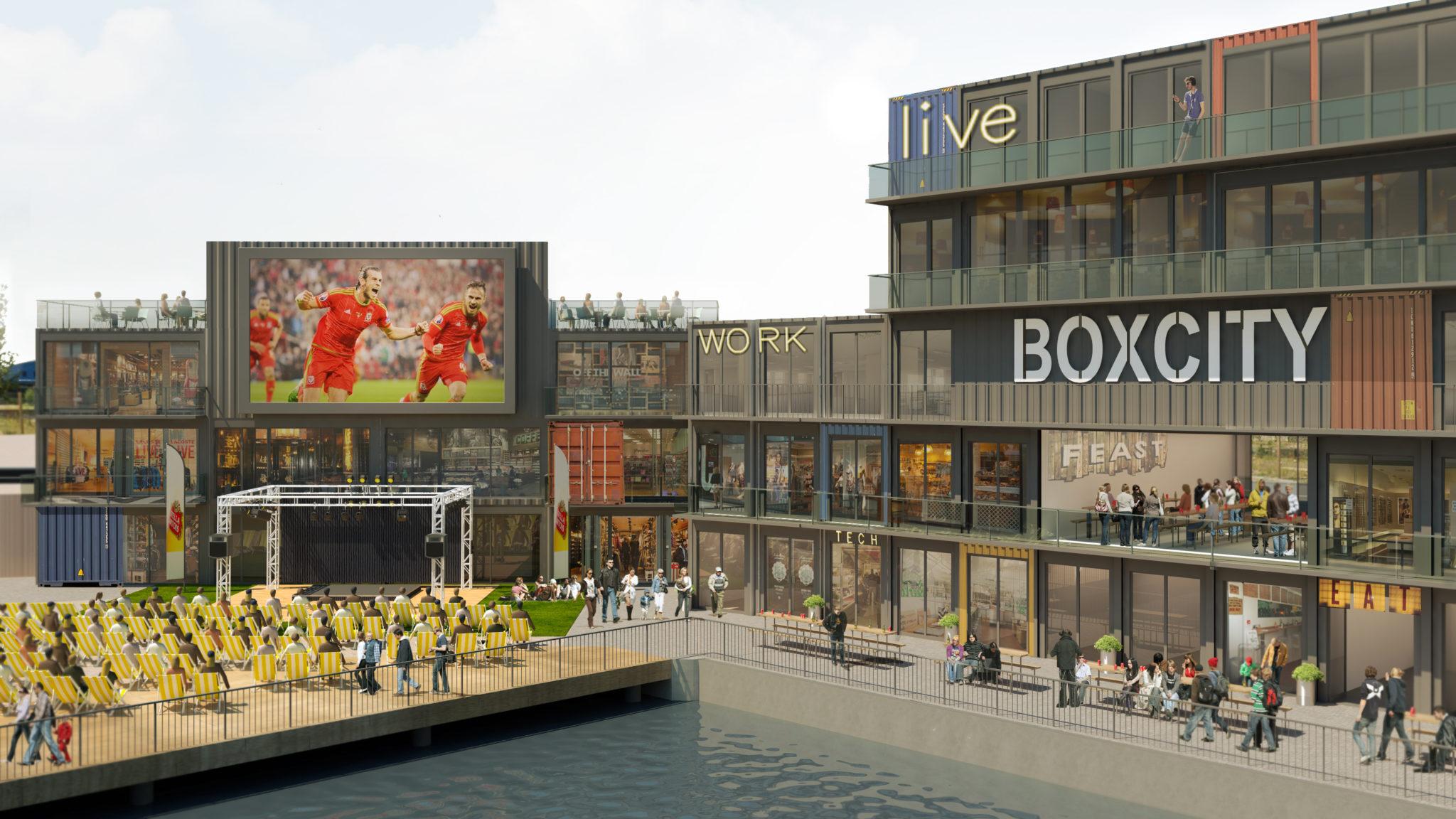 Boxcity Cardiff