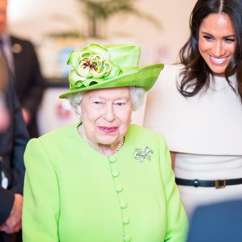 The Queen and Megan Markle Storyhouse Cultural Centre, Chester