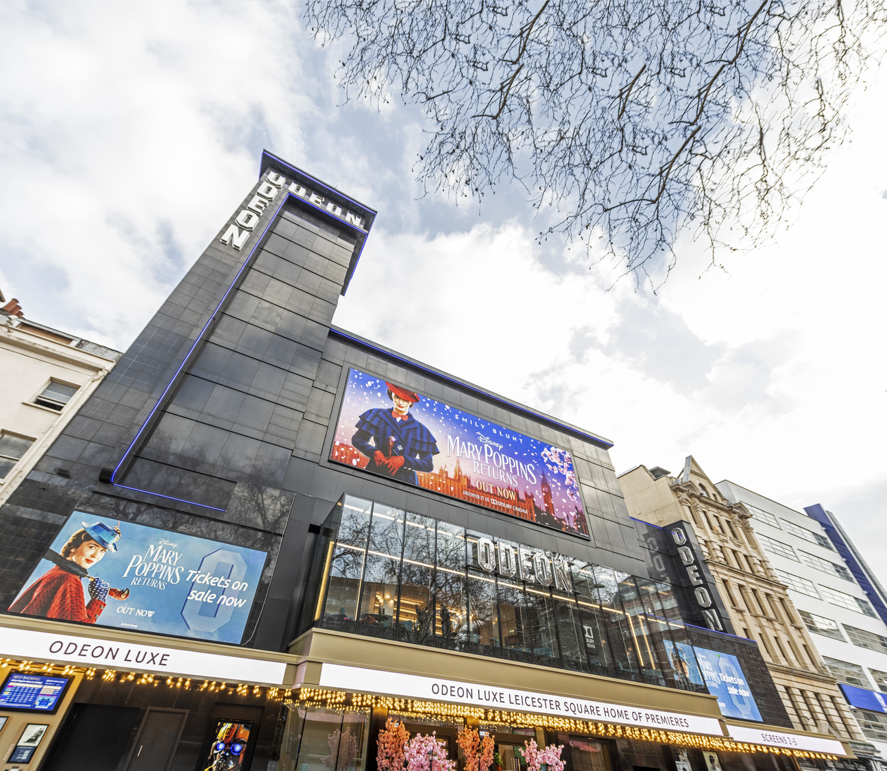 Odeon Cinema Leicester Square London