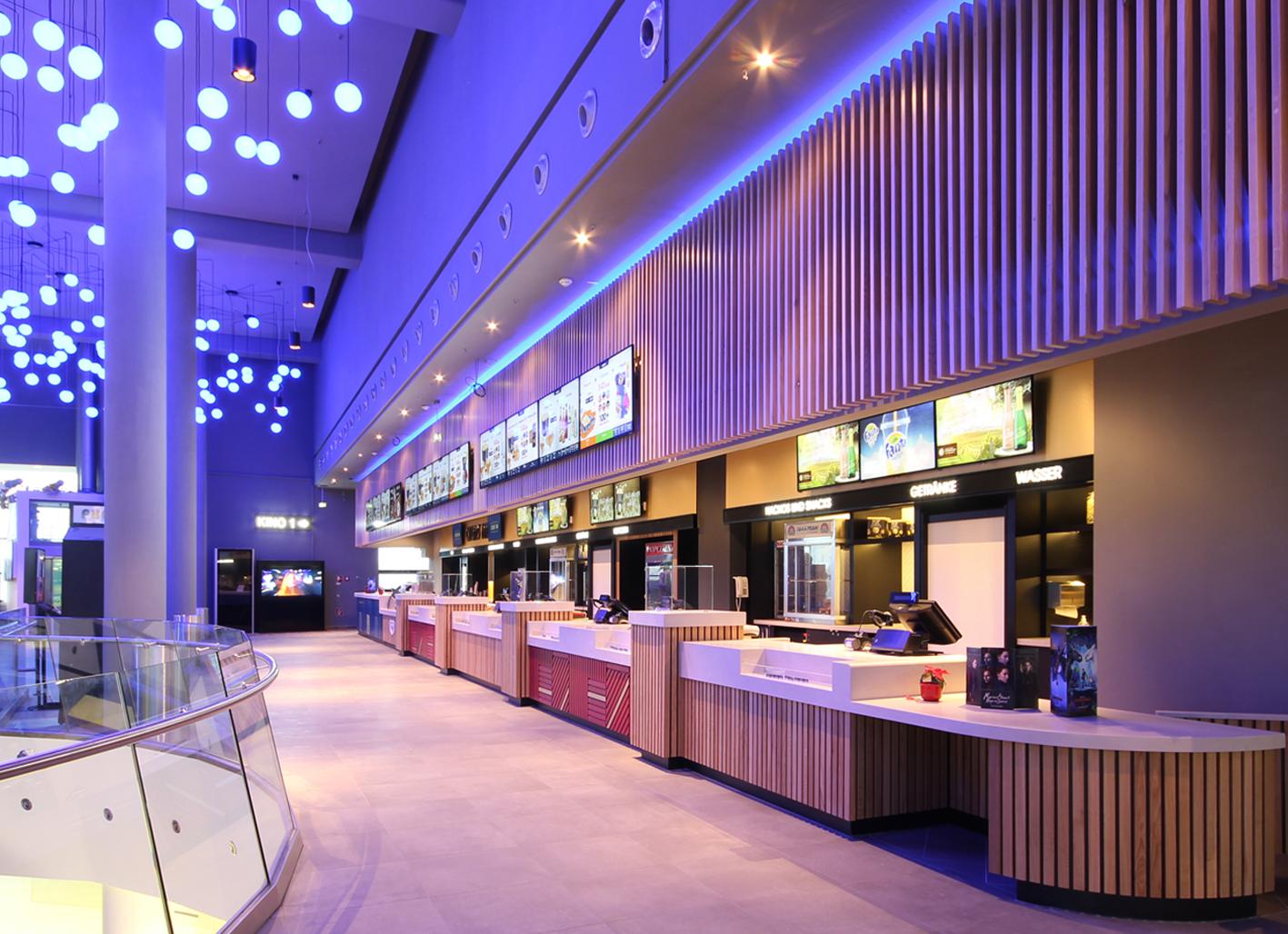 UCI Luxe Kino Bahnhofspassagen Potsdam | EWA