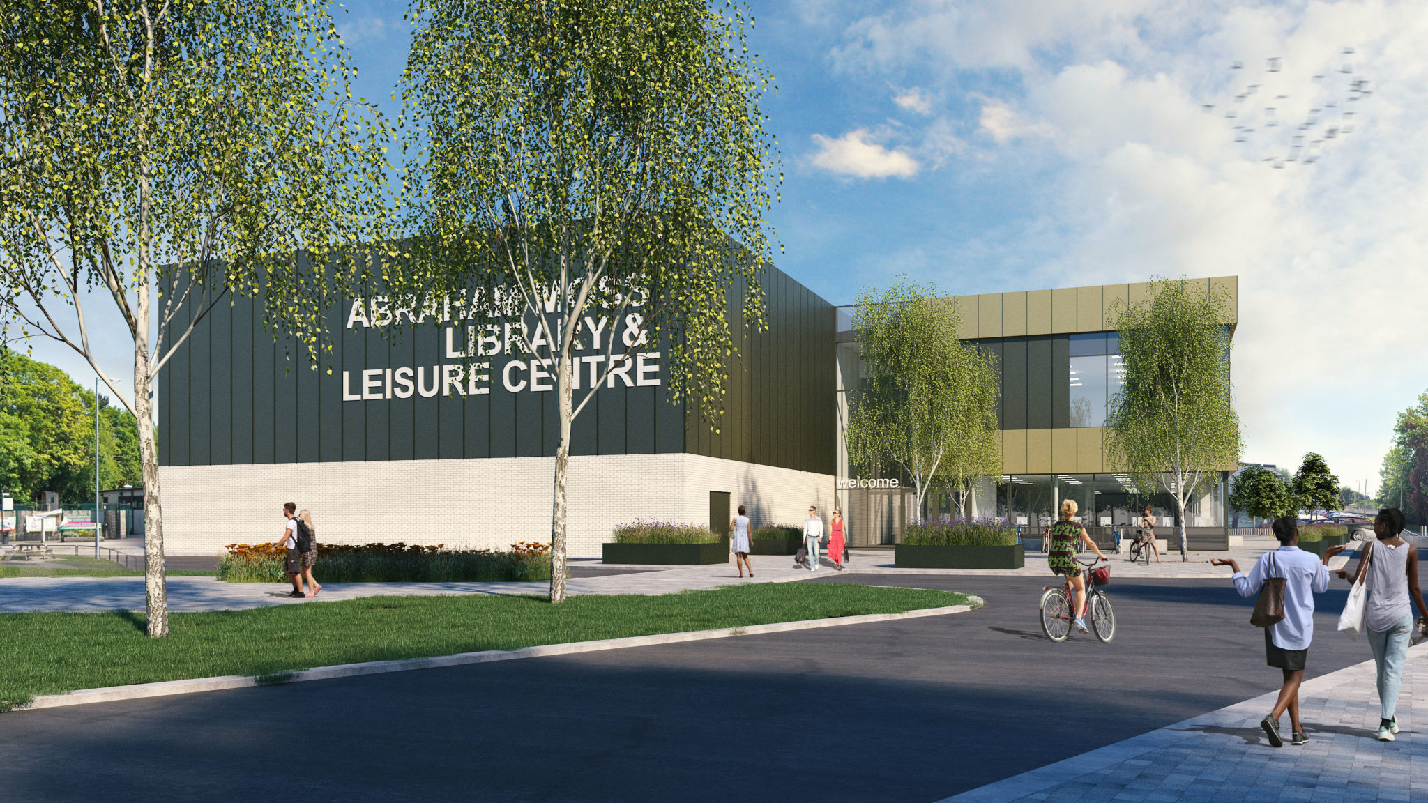 Abraham Moss Library & Leisure Centre