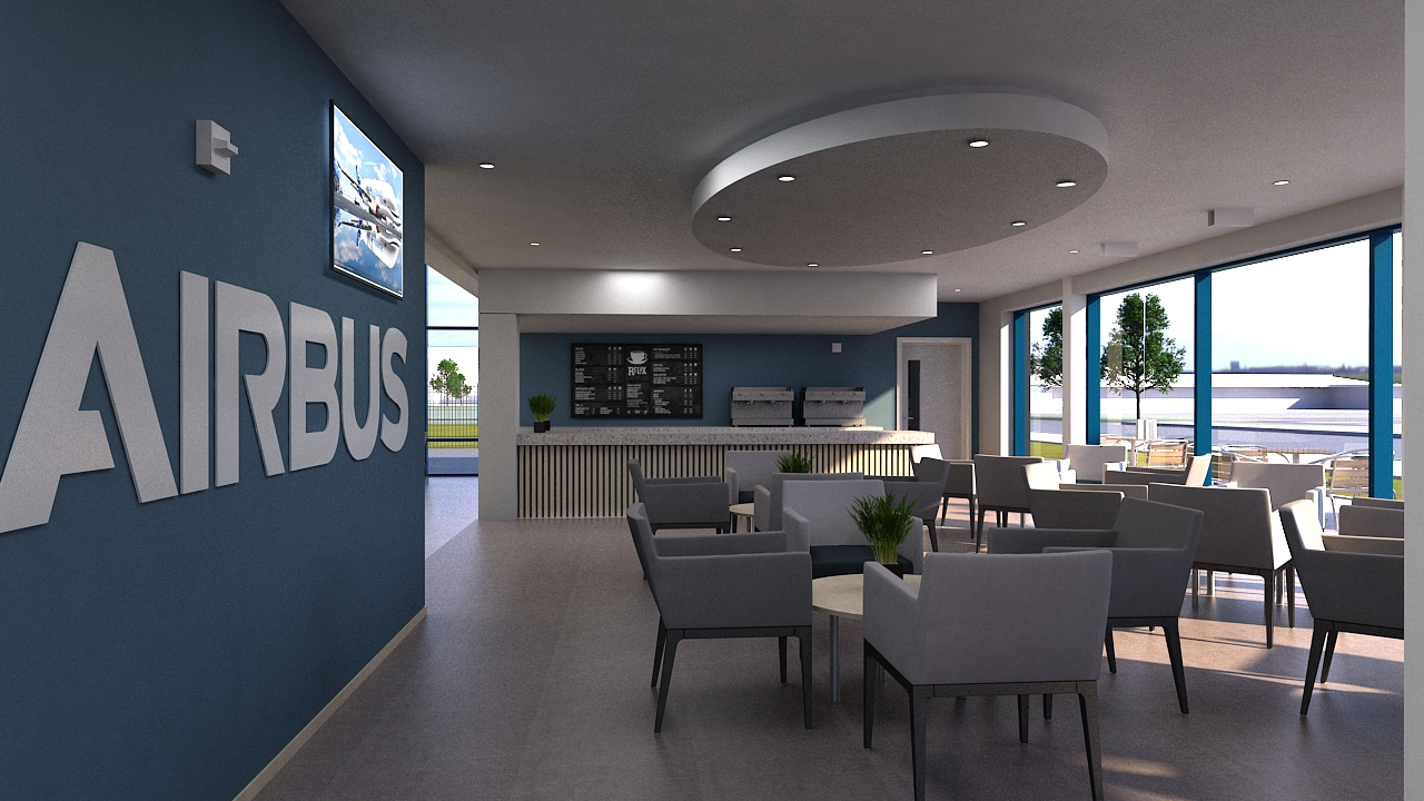 Airbus Occupational Health and Wellbeing Centre.