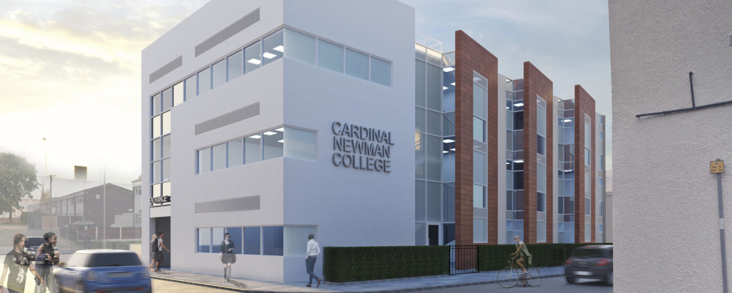 Cardinal Newman College T-Level building
