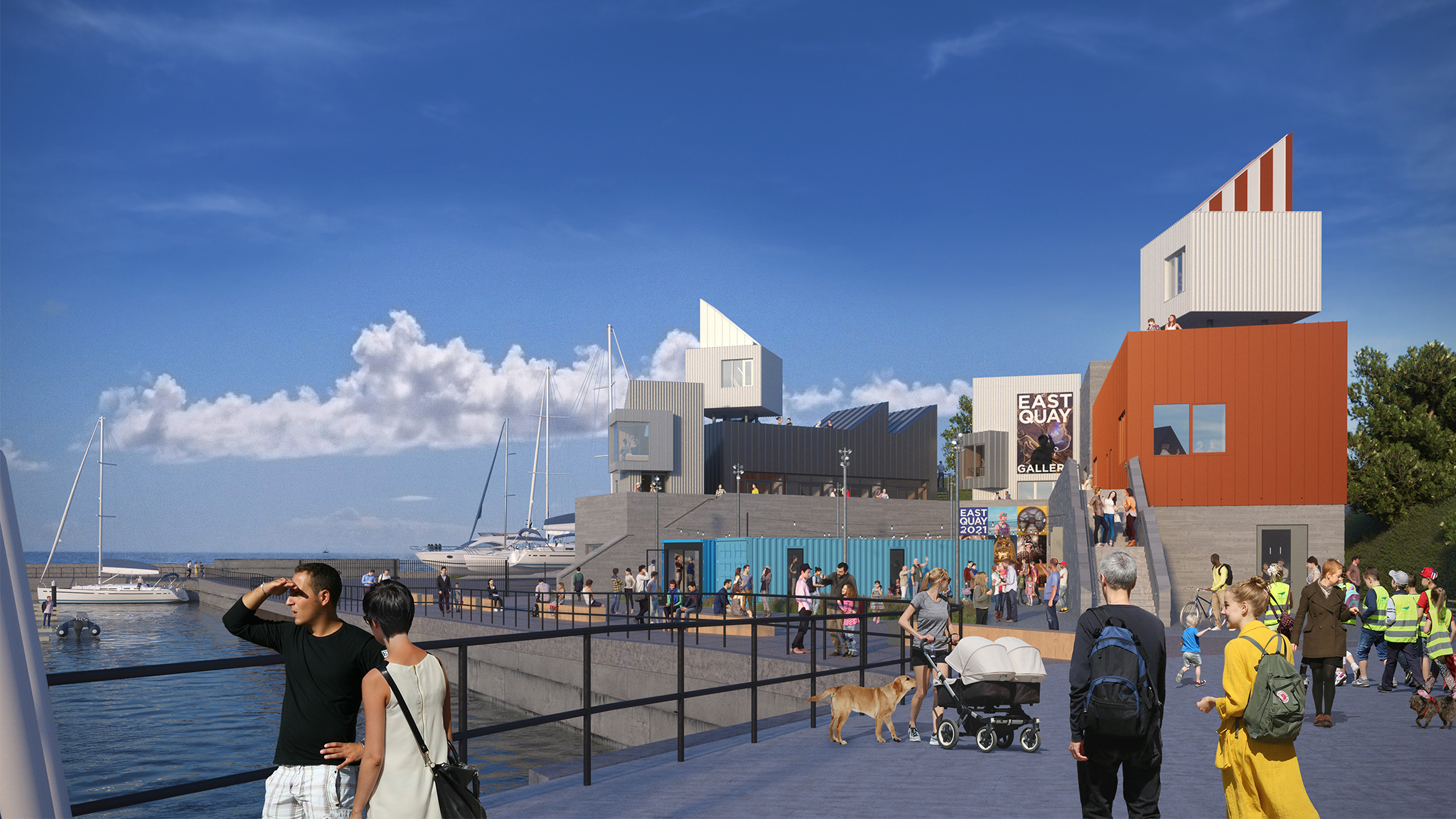 East Quay Cultural and Enterprise Development