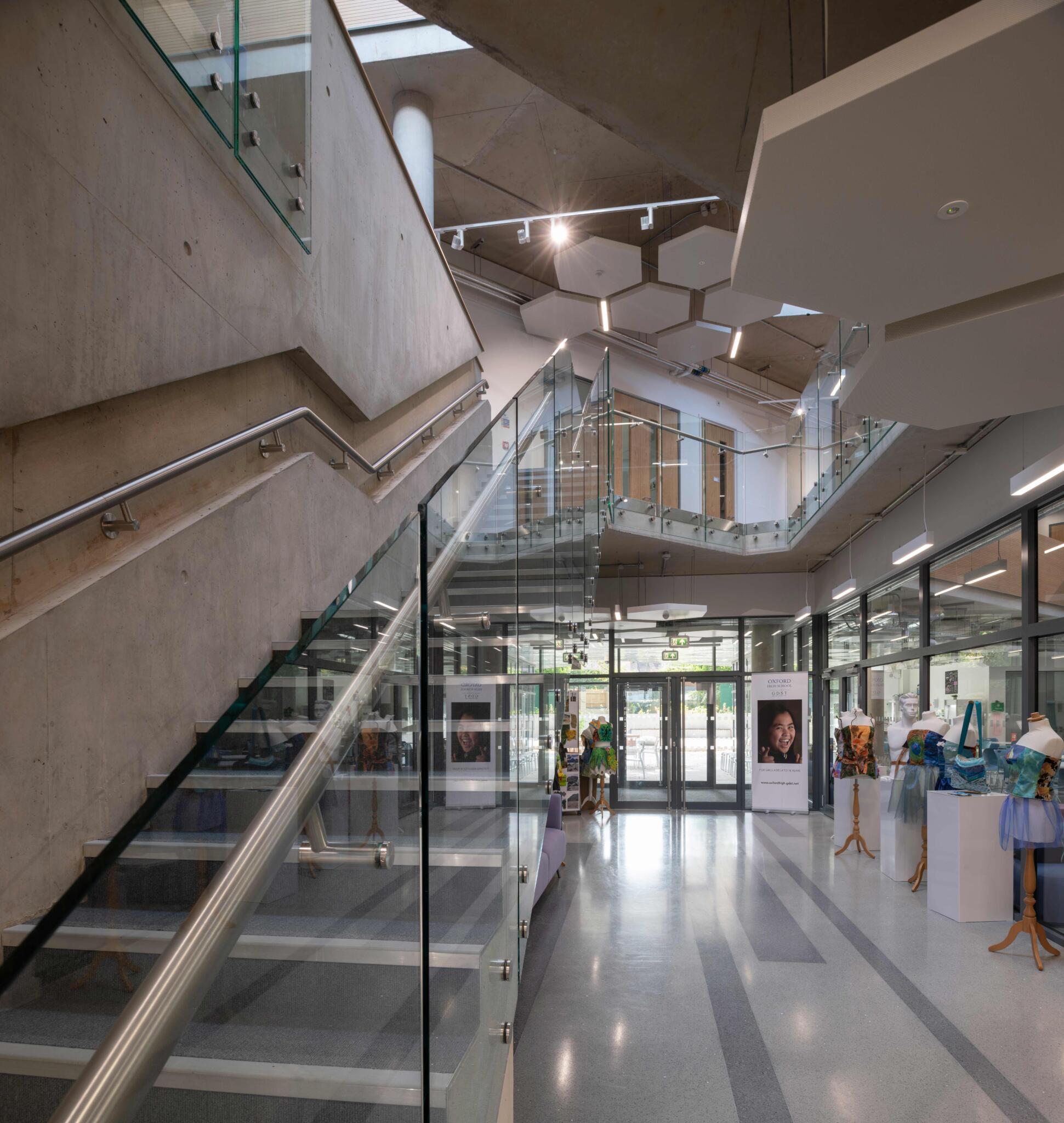 Ada Benson Building - Oxford High School
