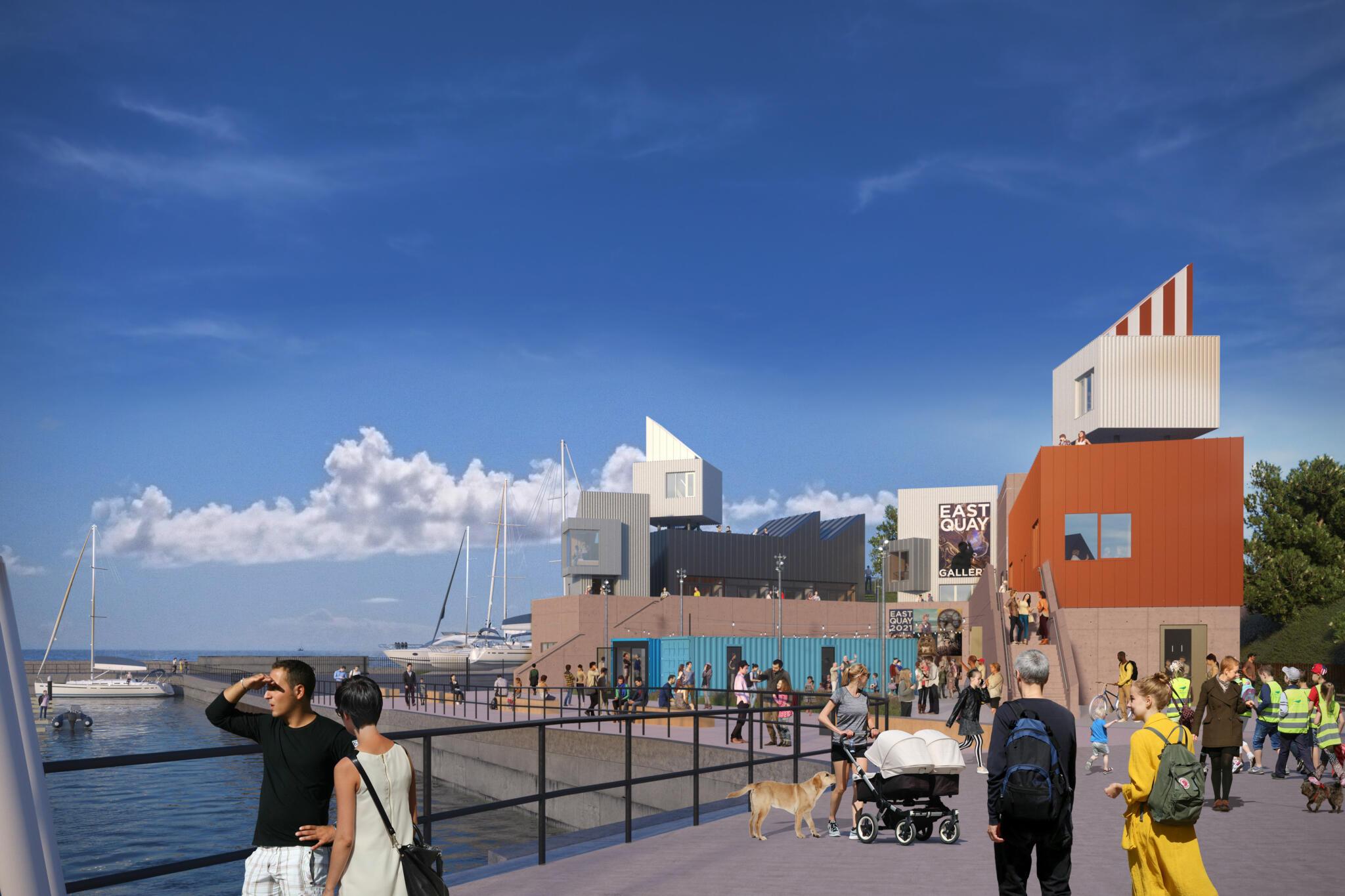 Watchet's East Quay Cultural and Enterprise Development