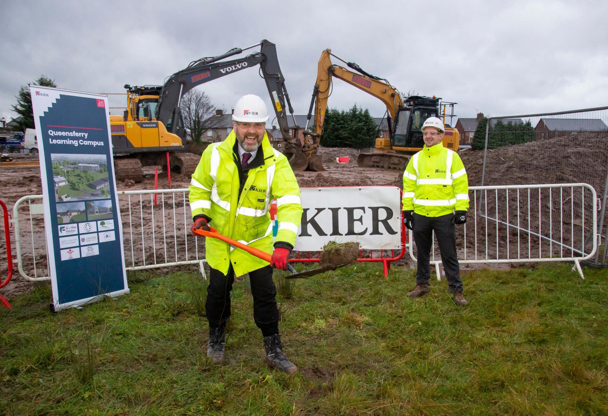 Queensferry Campus groundbreaking