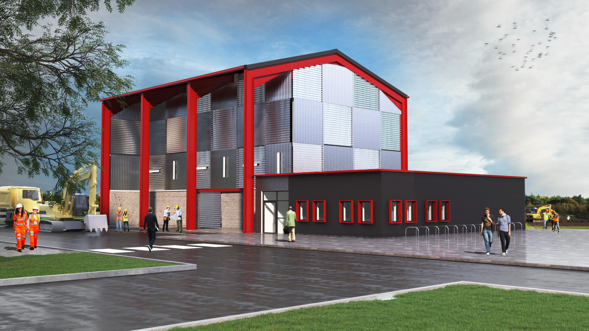Civil Engineering Training Centre at Lakes College